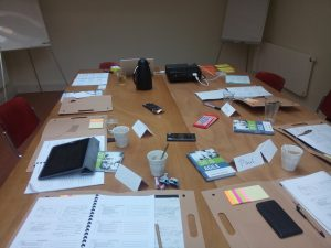 project management training in action