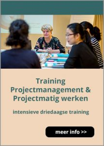 Meer informatie over de training projectmanagement & projectmatig werken